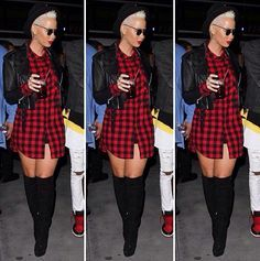 Amber Rose looks awesome