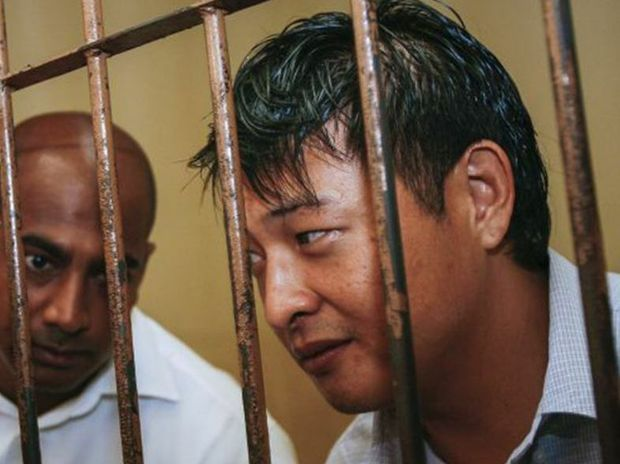 Andrew Chan, right, and Myuran Sukumaran have been in prison for 10 years