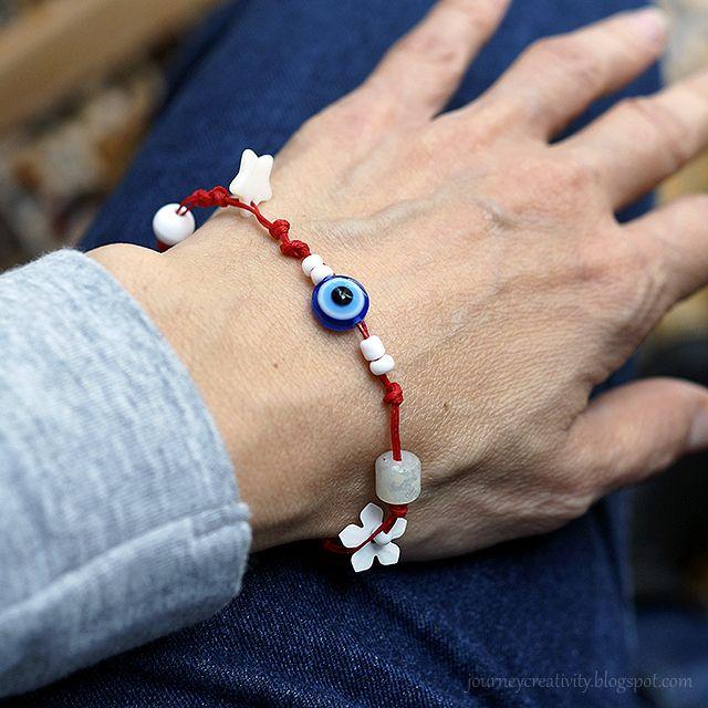 """Journey into Creativity: """"March"""" bracelet"""