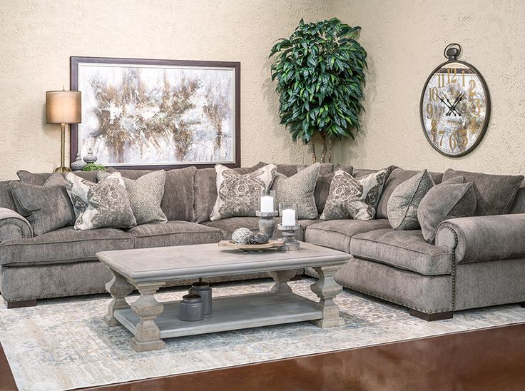 Hemispheres: A World of Fine Furniture | Taylor-Opus 2 Piece Sectional