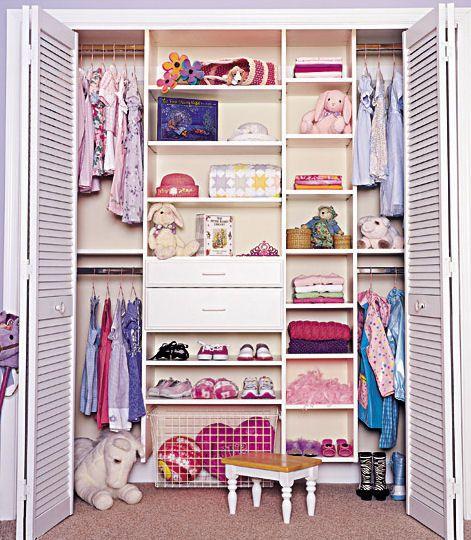 closet inspiration for the girls