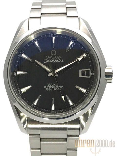 Omega Seamaster Aqua Terra Midsize 231.10.39.21.06.001 gebraucht aus 2010