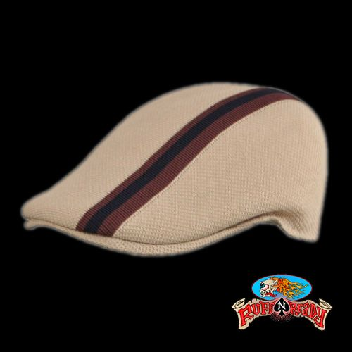 A golf hat is called bonnet in the 14th century. This style goes way back!!! Check out KANGOL's Polo Stripe Cabbie Golf Hat! http://www.ruffnready.com.au/store/hatsbeanies/polostripe507kangol_2921 #RuffnReady #hat #golfhat #Kangol