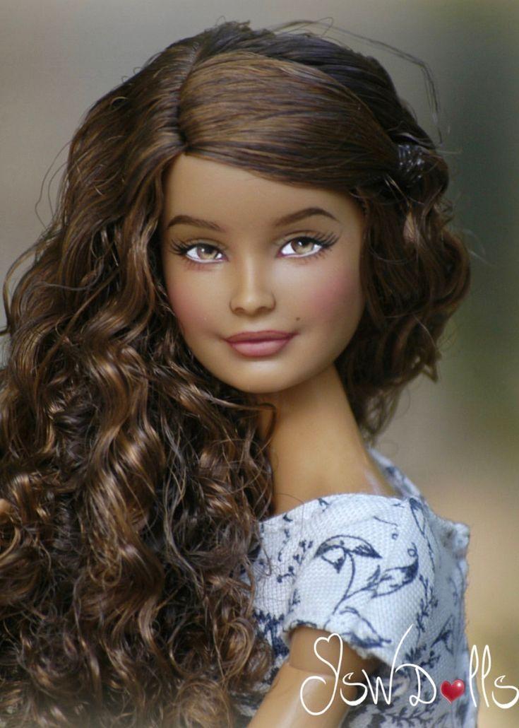 38433/jswdolls  barbie world beautiful dolls long