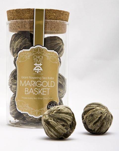 Marigold Basket - Choi Time tea jar