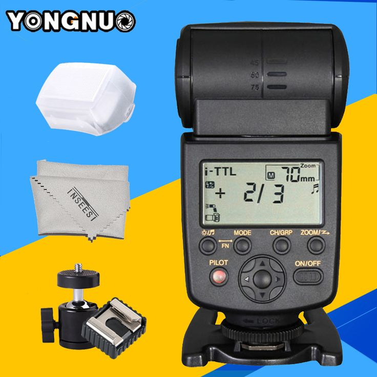 Yongnuo YN568EX TTL HSS High Speed Flash Speedlite YN-568EX for Nikon D750 D7000 D7100 D7200 D5200 D5300 DSLR Camera Speedlight