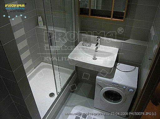 malá koupelna-bytové jádro na minimálním prostoru