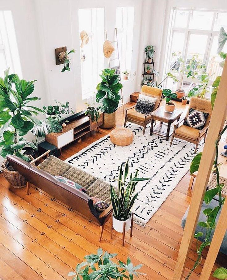 My dream living room. #dreamdecor #interiordesign #bohodecor #livingroomdesign #neutraldecor