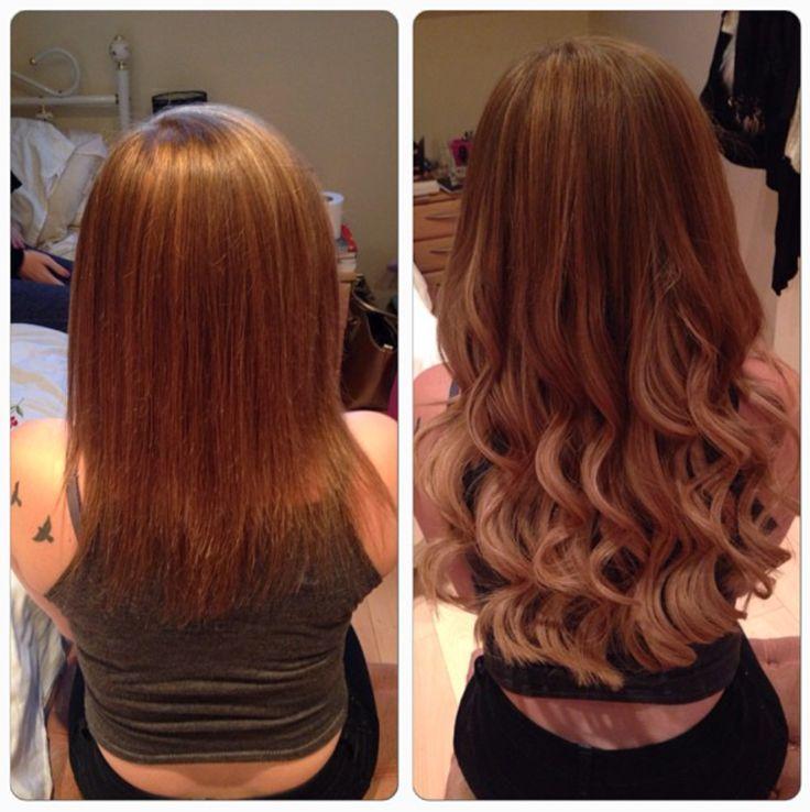 extensions de cheveux avant aprs httpinstagram - Color Out Avant Apres