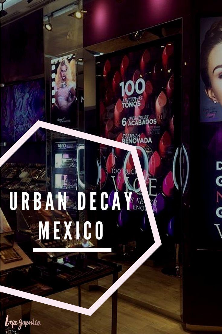 ¿Ya conocieron la primera FSS de Urban Decay en México? En mi blog les cuento sobre la experiencia que tuve durante la inauguración de esta increíble tienda en Centro Comercial Santa Fé! :)
