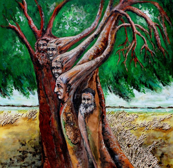 """No 8 """" Men of the Tree""""  Windy day down at a park in Bli Bli for Australia Day. $180"""