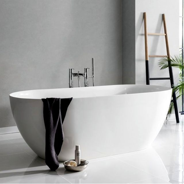 Clearwater Formoso Natural Stone Bath 1690mm : UK Bathrooms