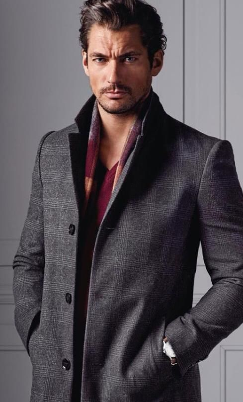 David Gandy Models Fall Styles for Latest Marks & Spencer Campaign