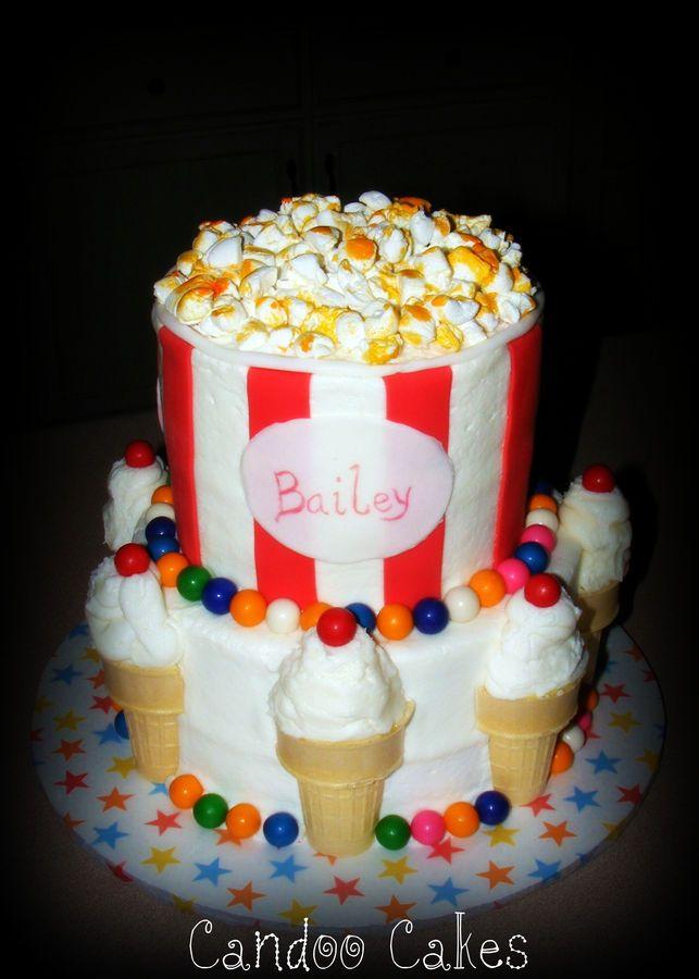carnival+cakes+for+kids | Carnival cake for 3... — Children's Birthday Cakes