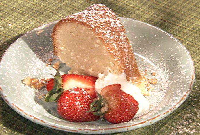 Vanilla Pound Cake Recipe Loaf Pan: Paula Deen, Cakes And Cream