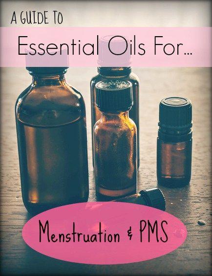 A Guide to Essential Oils for Menstruation & PMS