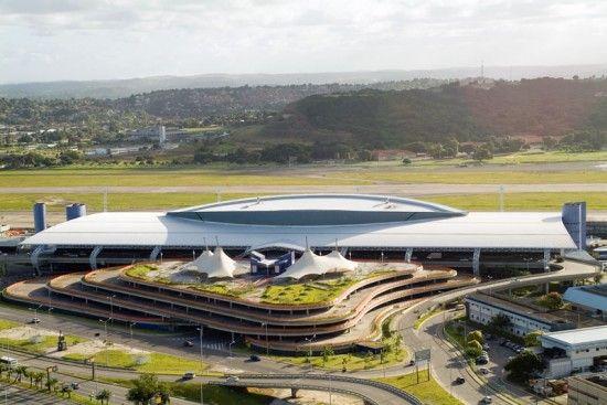 Aeroporto Internacional dos Guararapes Gilberto Freyre 1 550x367 Aeroporto Internacional dos Guararapes Gilberto Freyre   Recife