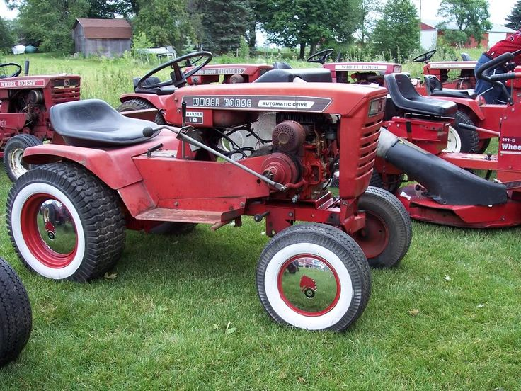 17 Best Images About Wheel Horse Tractors On Pinterest