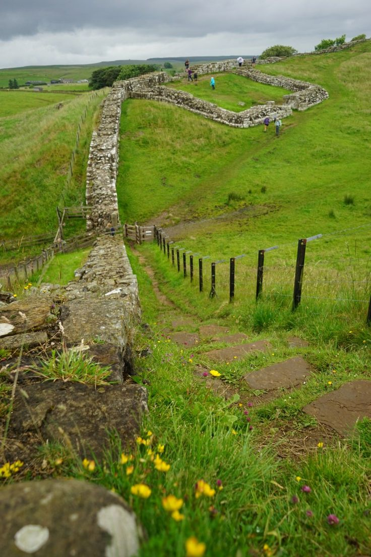 Northumberland - A family adventure - visiting Hadrian's Wall with kids.