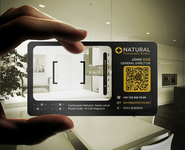 Plastico Camera Business Card by Calwin
