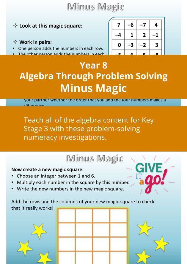 Numeracy and Algebra Add positive and negative integers and