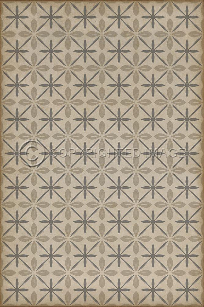 Pura Vida Home Decor Pattern 81 The Carhop Vinyl Floor Cloth