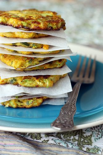 delicious mücver • Turkish courgette fritters recipe