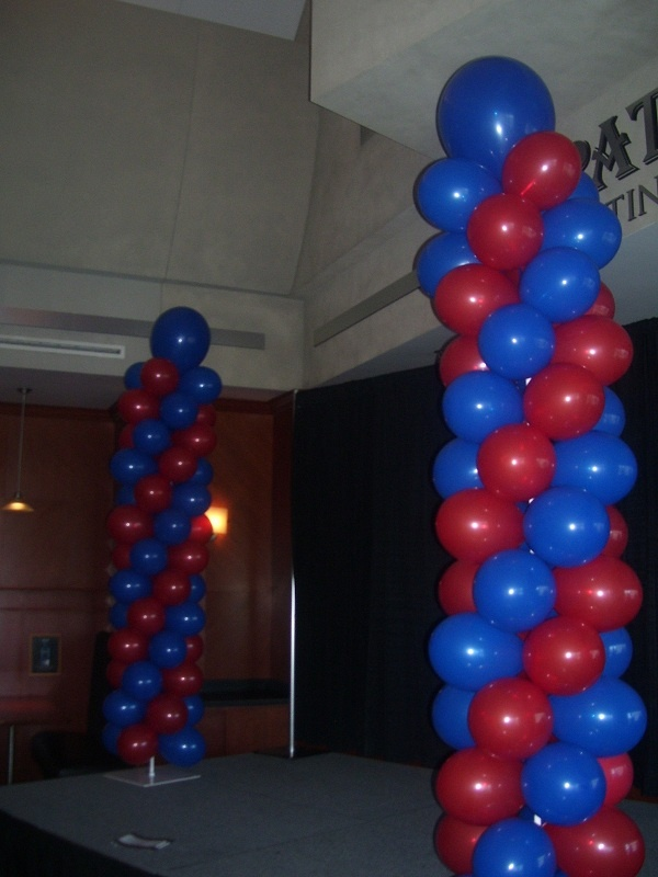 170 best images about balloon decor on pinterest for Air filled balloon decoration ideas