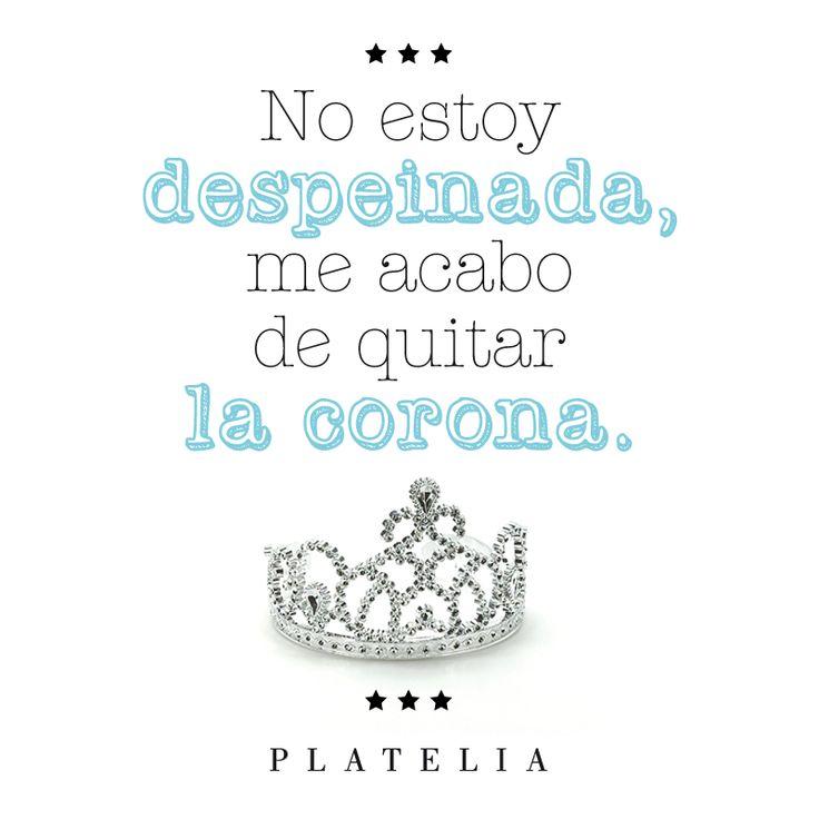 toda una reina!