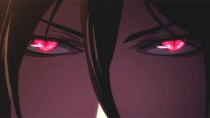 Sebastian Michaelis...sexiest red eyes and bangs.