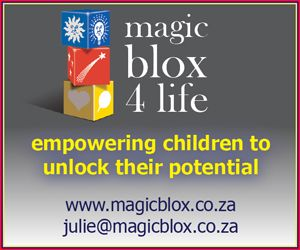 Magic Blox 4 Life offers a Life Skills / EQ programme to support all children age 5-12, by equipping them with a strong emotional foundation as well as the skills and tools to lead positive, mindful, happy lives.  http://parentinghub.co.za/directory/listing/magic-blox-4-life