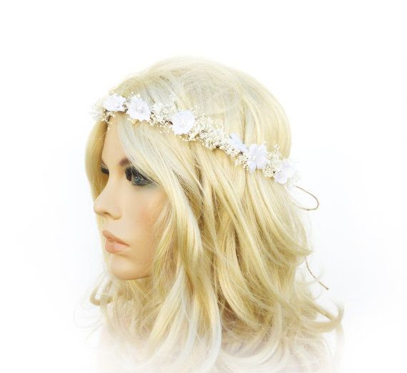 1000 Ideas About Flower Crown Hair On Pinterest: 1000+ Ideas About Babys Breath Crown On Pinterest