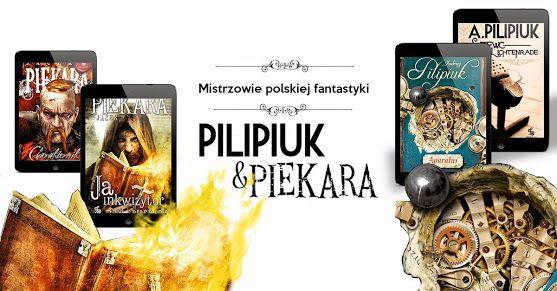Geniusze polskiej fantastyki w specjalnej promocji! Poniżej podaję detale promocji.