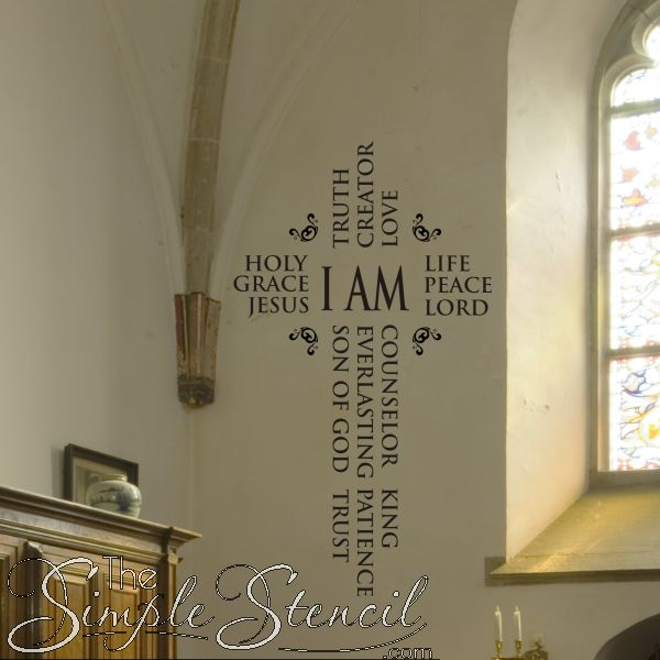 119 Best Christian Wall Words Images On Pinterest Wall