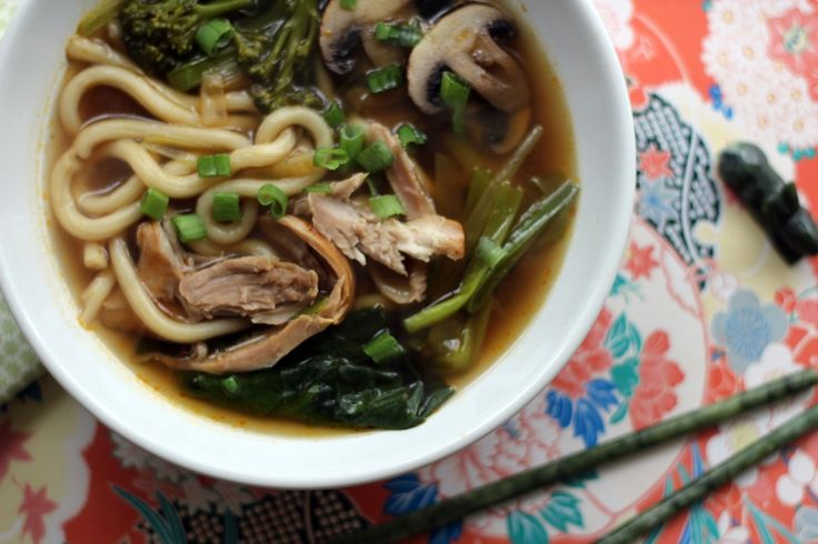 japanese chicken udon noodles recipe