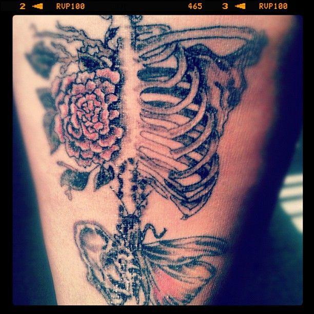 Skull tattoo love this ink pinterest tattoo for Higgins ink tattoo