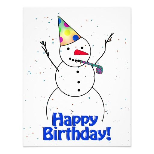 29 Best Images About Snowman And Winter Birthday On