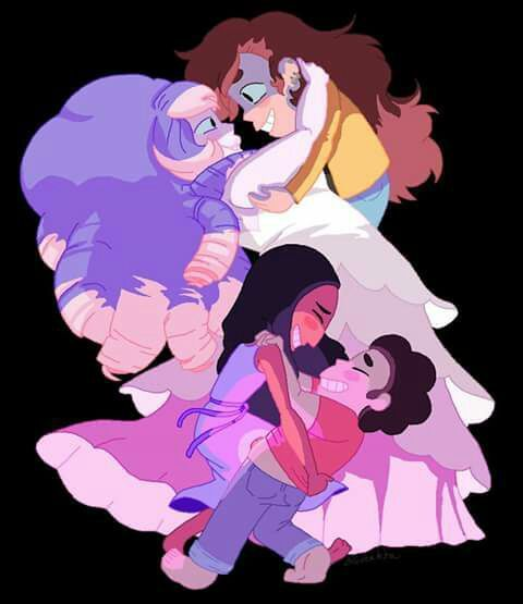 Rose y Greg,Connie y Steven