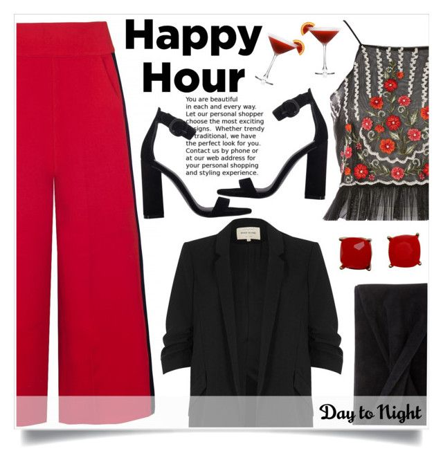"""""""Happy Hour Girls!!!"""" by alaria ❤ liked on Polyvore featuring River Island, Kendall + Kylie, Topshop and Reiss"""
