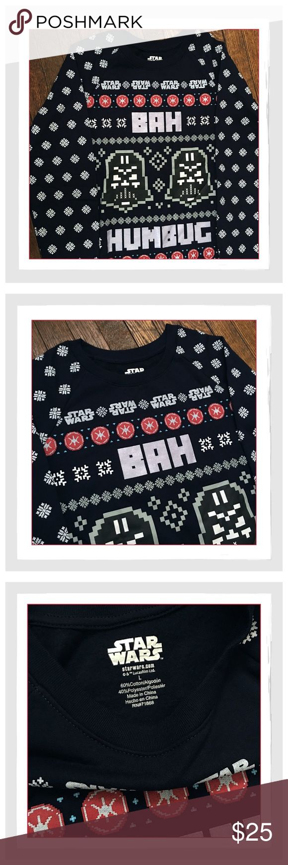 ✨Star Wars Fun Holiday Christmas Sweatshirt✨ ✨Star Wars Fun Holiday Christmas Sweatshirt✨Fun Sweatshirt For The Upcoming Holiday Season Especially In Anticipation Of The Newest Star Wars Movie Release In December 2017✨60% Cotton/40% Polyester✨Grab One For Yourself Or Your Star Wars Fans✨NEW✨ Boutique Tops Sweatshirts & Hoodies