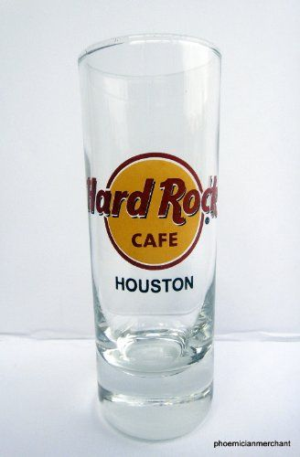 Hard Rock Cafe Houston Red Circle Large Font Cordial Shot Glass * Read more reviews of the product by visiting the link on the image.
