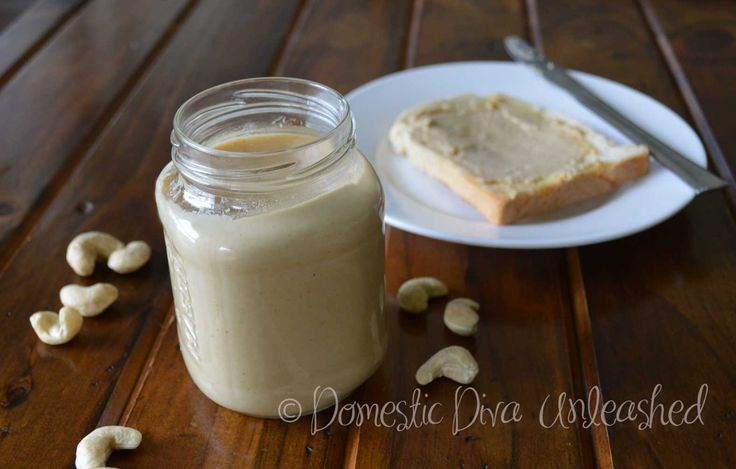 Domestic Diva: Cashew Butter