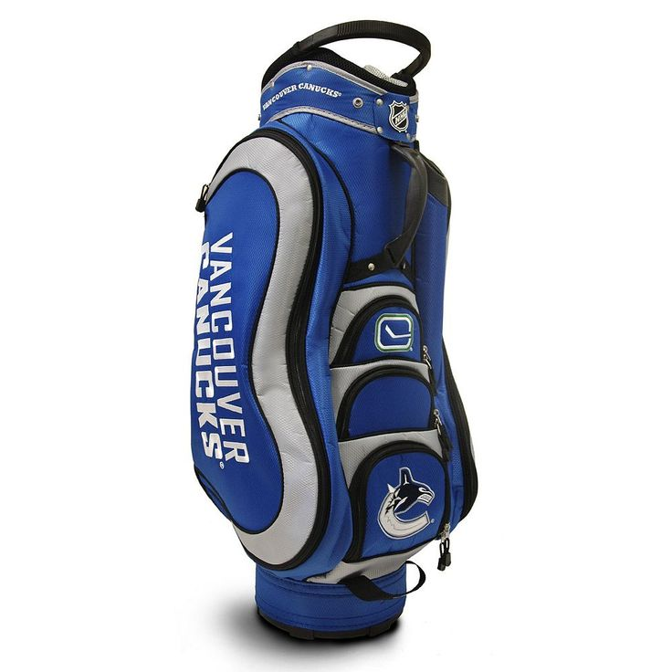 Team Golf Vancouver Canucks Medalist Cart Bag, Multicolor