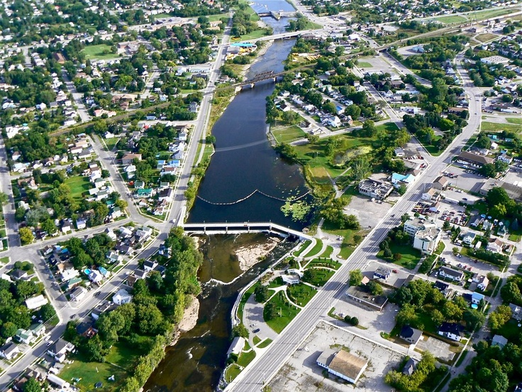 lovely city of Belleville Ontario, Canada where I was born, as was my dad and his Mother