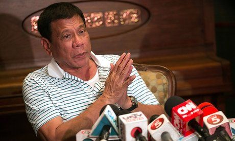 You won't be harmed if you don't do anything wrong, says Rodrigo Duterte, pledging to end crime in six months by assassinating criminals as and journalists....a glimpse of the pending Trump presidency
