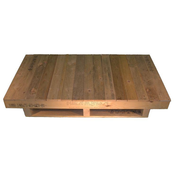 Pallet in legno con travatura - Imballoinlegno.it