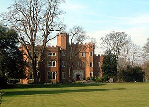 Hertford Castle was a Norman castle situated by the River Lea in Hertford, the county town of Hertfordshire, England.