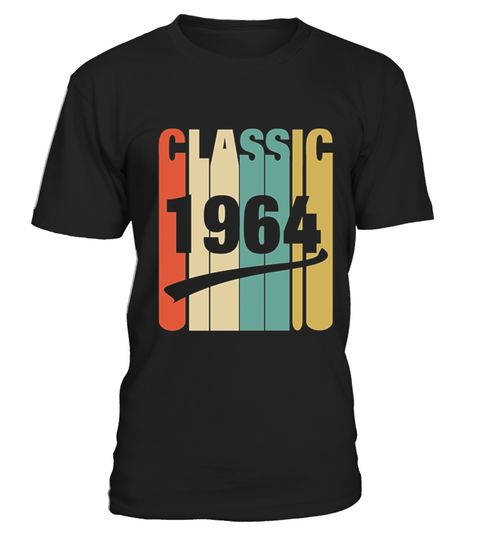 "# Classic Retro 1964 Birthday .  100% Printed in the U.S.A - Ship Worldwide*HOW TO ORDER?1. Select style and color2. Click ""Buy it Now""3. Select size and quantity4. Enter shipping and billing information5. Done! Simple as that!!!Tag: funny, gift, father's day, years of being awesome, trending, top selling, born in 1964, made in 1964, legends are born in 1964 shirt, men and women, horoscope t shirt, zodiac t shirt, gift, funny t shirt"