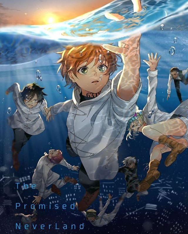 The Promised Neverland Epic Anime Wallpaper Anime Art Neverland