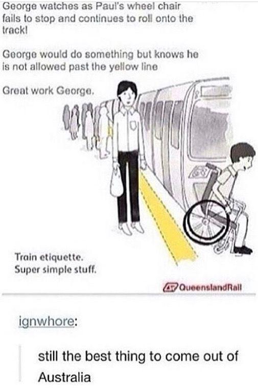 Great work George